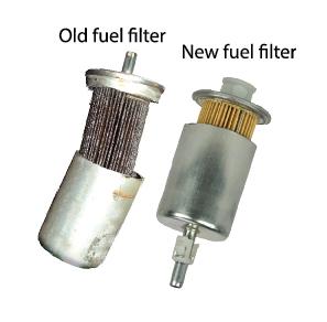 تفاوت فیلتر بنزین نو و کارکرده استفاده شده بهمراه عکس و توضیحات
