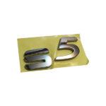 نوشته S5 روی درب عقب هایما S5 شرکتی