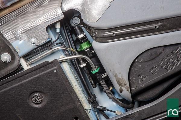 محل قرارگیری صافی بنزین در خودروهای چینی